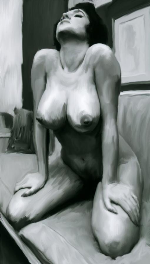 #003 Retro Perfect Naked Boobs